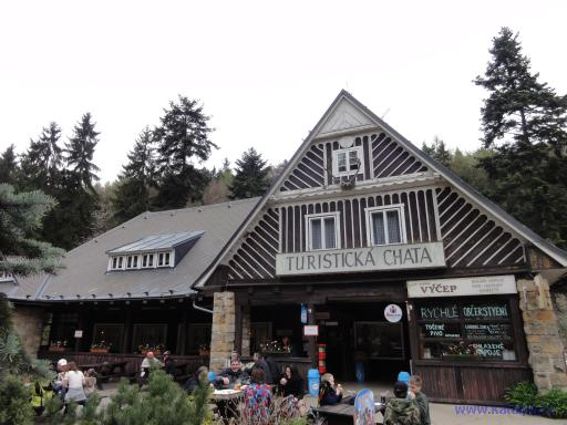 Turistická chata - Prachovské skály