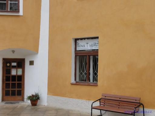 Kiosek v kláštěře - Panenský Týnec