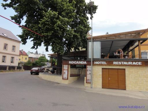 Hotel restaurace Kocanda - Děčín
