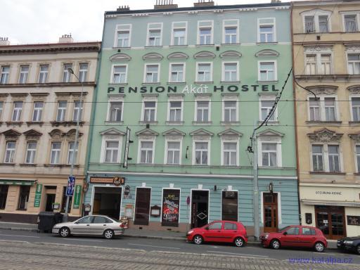 Pension hostel Akát - Praha Smíchov
