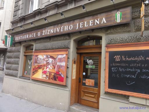 Restaurace U žíznivého jelena - Praha Smíchov