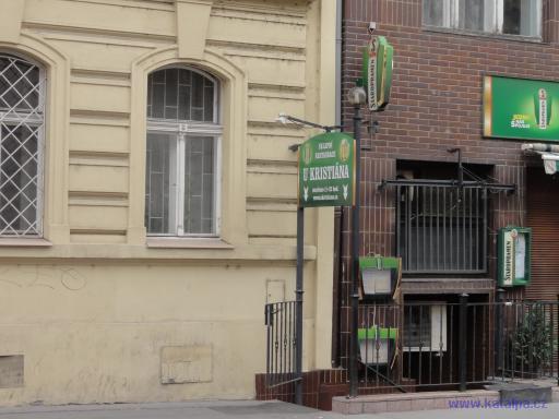 Sklepní restaurace U Kristiána - Praha Smíchov