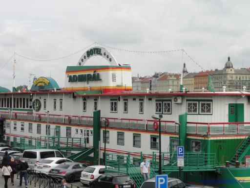 Botel Admirál - Praha Smíchov