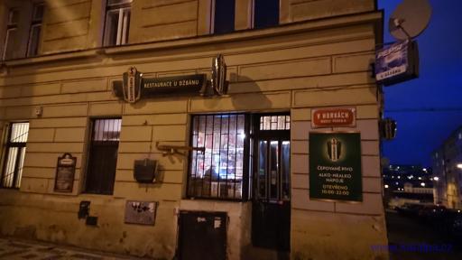 Restaurace U Džbánu - Praha Nusle