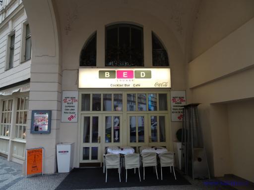 BED lounge coctail bar - Praha