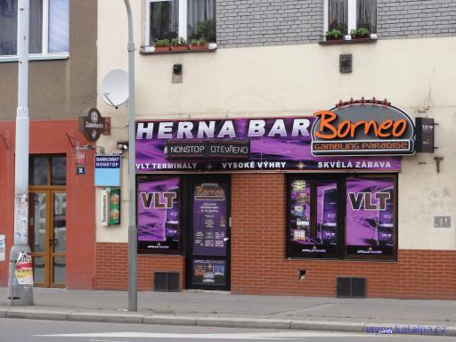 Herna Bar Borneo - Praha Strašnice
