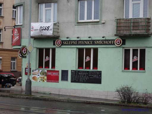 Sklepní pivnice Smíchoff - Praha Smíchov