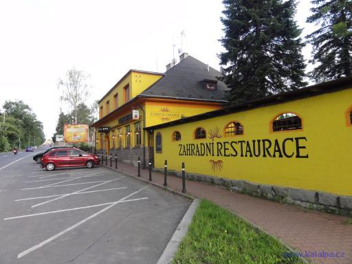 Restaurace Sluneční zahrada - Praha Dolní Měcholupy