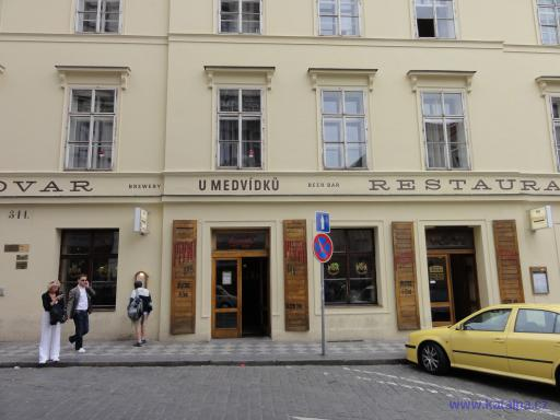 Pivovar U Medvídků - Praha