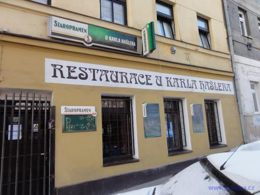 Restaurace U Karla Hašlera - Praha