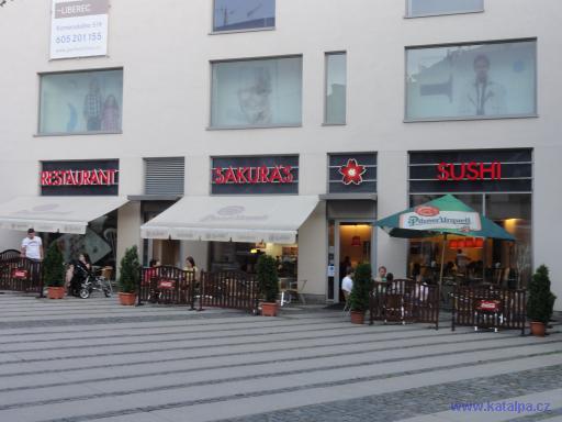 Restaurant Sakura§s sushi - Liberec