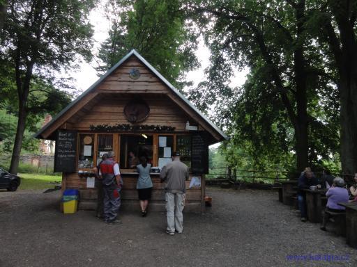Bufet v lese - Mníšek pod Brdy