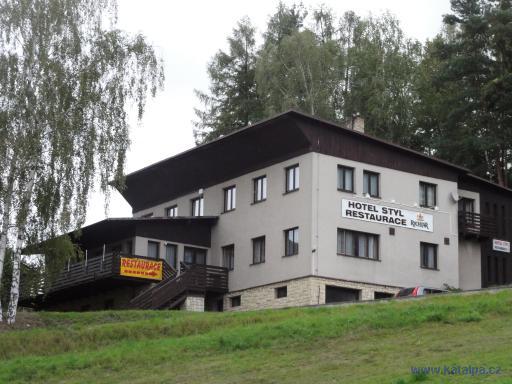 Hotel styl - Kouty u Hlinska