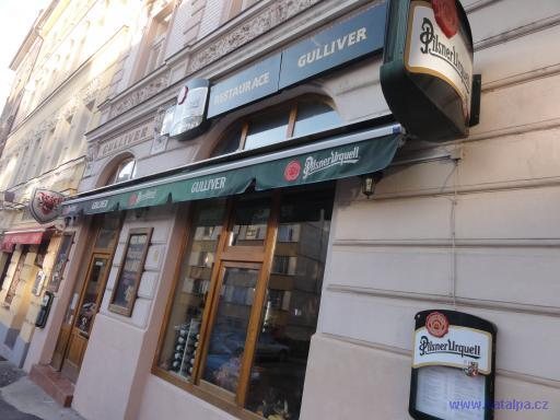 Restaurace Gulliver - Praha Vršovice