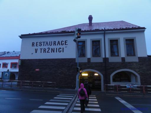 Restaurace V tržnici - Příbram