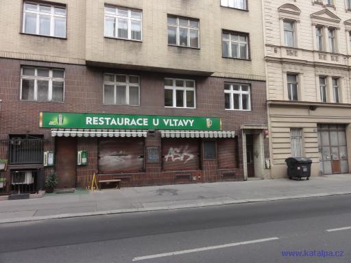 Restaurace U Vltavy - Praha Smíchov