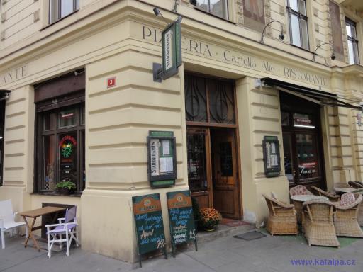 Pizzeria Cartello Alto - Praha