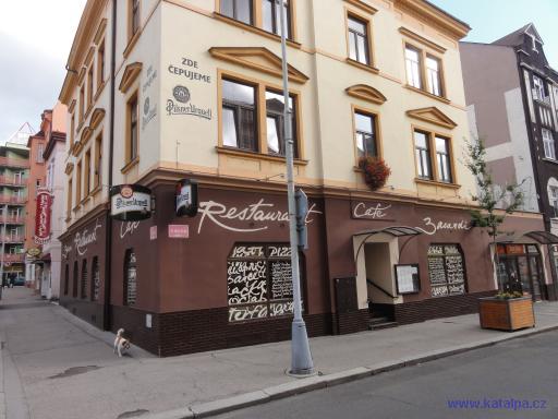 Restaurace Cafe Bacardi - Děčín