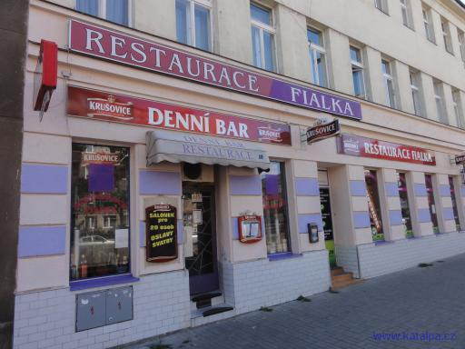 Restaurace Fialka - Praha Vysočany