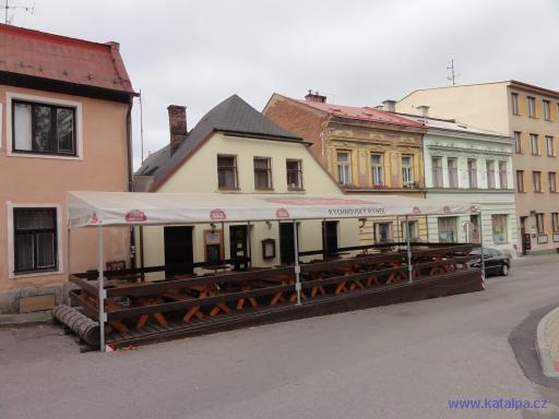 Rychnovský rynek - Rychnov nad Kněžnou