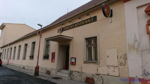 Zámecká restaurace - Žlutice