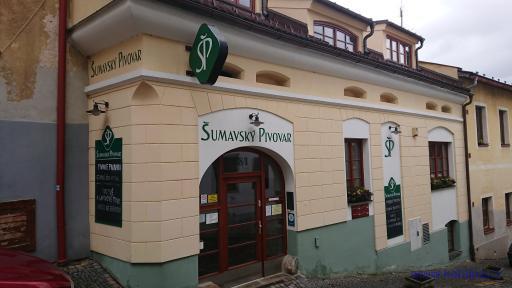 Šumavský pivovar - Vimperk