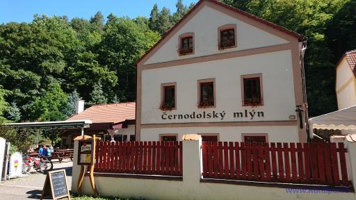 Černodolský mlýn - Oparno