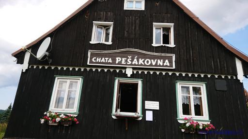Chata Pešákovna - Jizerka