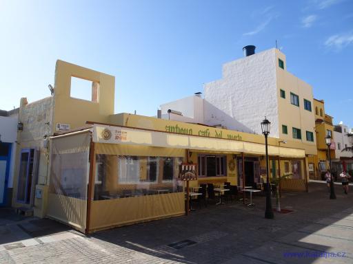 Antiguo Café del puerto - Corralejo Fuerteventura